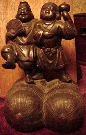 Daikoku Daikokuten Japanese God Of Farmers