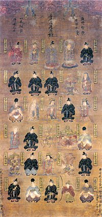 Sanjubanshin (Sanjubanjin) = 30 Kami Tutelaries of the Thirty Days