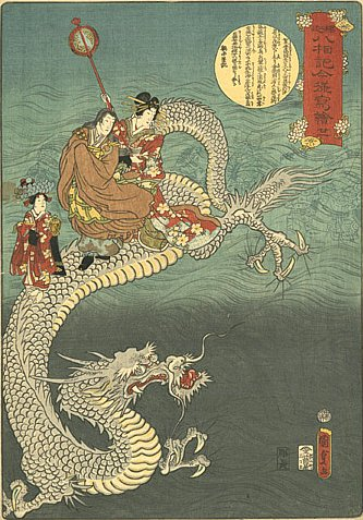 Dragons, Dragon Art, and Dragon Lore in Japan, Buddhism