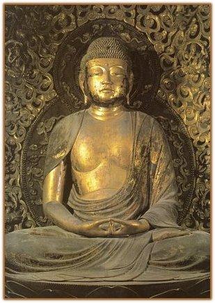 Apsaras - Bosatsu on Clouds, Japanese Buddhism Photo ...