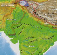 Gilgit area of Northwest India