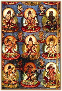 Dainichi Nyorai and Deities from Lotus Holder Court 859AD