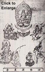 Esoteric Seven Lucky Gods -- An Unconventional Grouping