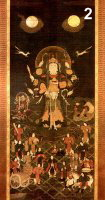 Tenkawa Benzaiten Mandala (includes Bishamon as attendant)