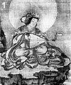Benzaiten playing the biwa