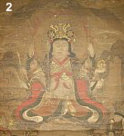 8-Armed Uga Benzaiten with snake atop head
