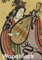 Benzaiten as a beauty playing the biwa; her most common form in Japan