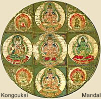 Five Buddha of Wisdom (Gochi Nyorai, Gochi Buddha, Gochi Jina)