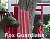 Fox (Kitsune) is the messenger of Oinari (Inari)