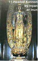 11-Headed Kannon, by Inpan Busshi of the Inpa School of Japanese Buddhist Statuary