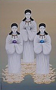 Painting of the Three Munakata Goddesses