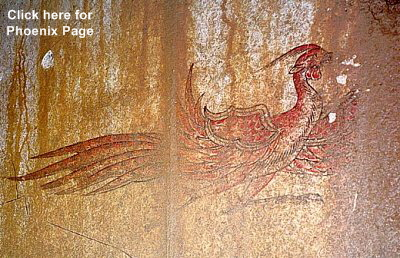 Red Bird, discovered in tomb near Nara in early 1970s