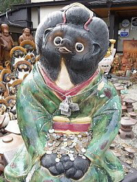 tanuki-as-female-outside-shigaraki-train-station