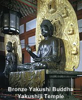Yakushi Bronze Buddha at Yakushiji Temple, 7th