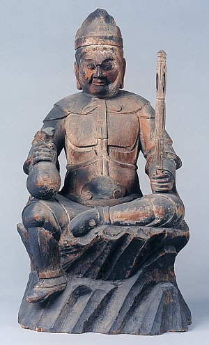 daikokuten, Kongorinji temple, heian period, photo courtesy biwako visitors