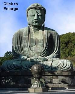 big buddha daibutsu of kotokuin temple amida nyorai
