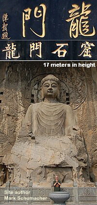 Longmen Grottoes in China, World Heritage Site, Stone Carvings in China