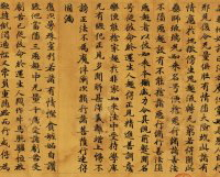 "Copy of Xuanzang's ""Original Vows of the Medicine Master Tathagata of Lapis Lazuli Light"""