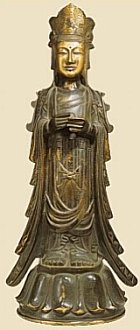 Bosatsu Statue, Horyuji Temple, 7th Century. See Photo Tour Page.