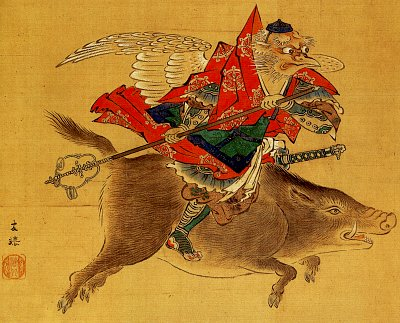 http://www.onmarkproductions.com/assets/images/crow-tengu-edo-period-faith-syncretism-by-kaiho-yutoku.jpg