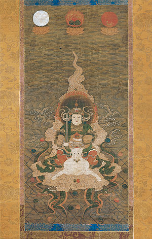 Dakiniten (Dakini) - Japanese Art, Nambokucho Period (1333?92 AD)