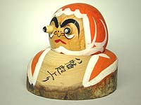 Daruma Whose Eyes Pop Out