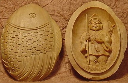 Ebisu - Japanese Good-Luck Amulet made of Sandalwood. Purchase Online at Buddhist-Artwork.com