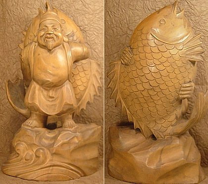 Ebisu, Japanese God of the Ocean and Fishing Folk