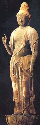 Gigeiten, Goddess of the Arts, Akishinodera (Nara)