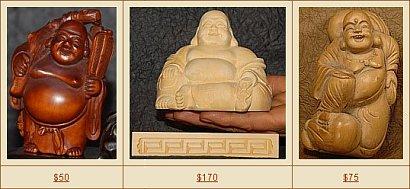 Hotei Statues in Our eStore