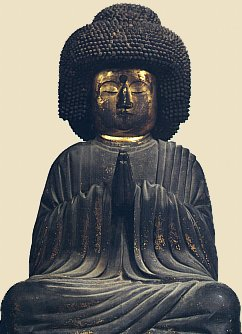 Hozo Bosatsu (who later became Amida Buddha), 13th Century, Wood, Todaiji Temple, Nara