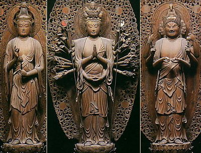 Six Kannon by Jokei II