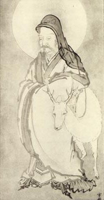 Jurojin, by Sesshu, 15th Century Japan