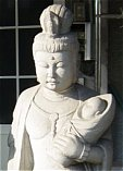 Koyasu Kannon -- Learn about the merging of this deity with her Shinto counterpart, Koyasu-sama.