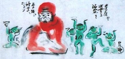 Kappa Paintings from Gabi Greve Collection