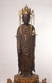 Kokuzo Bosatsu, by Choyu (dated 1390, wood)
