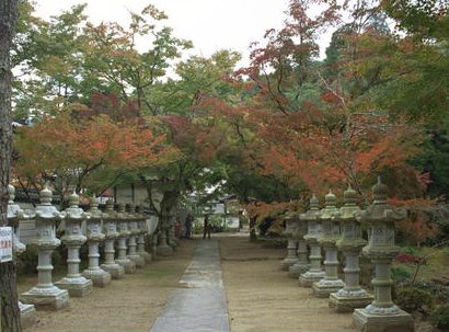 Stone Lanterns at Buttsuji Temple