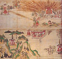 Lotus Sutra Picture Scrolls, Dejong Collection