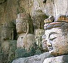 Magaibutsu - Buddhist images carved on large rock outcrops, cliffs, or in caves