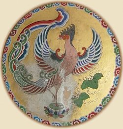 Phoenix Drum, found in the Engaku-ji Bell Tower. Photo by Mark Schumacher.