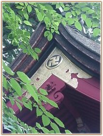 Shinto Architecture -- Roof Beams
