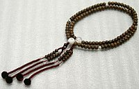 Nenju, or called Juzu. Buddhist rosary, usually with 108 beads