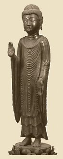 Kamakura Period, Photo courtesy Nara National Museum; statue of Shaka Nyorai