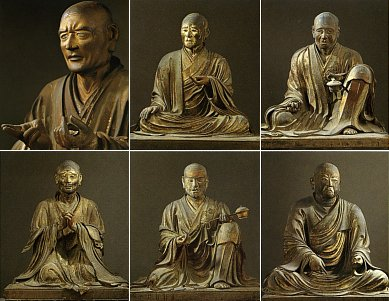 Six Patriarchs of Hosso Sect in Japan