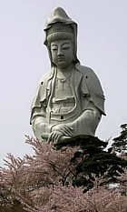 Byakue Kannon in Takasaki City