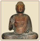 Jump to Five Buddha page - Image of Tathagata, Heian Era, Museum at Tsurugaoka Hachimangu, Kamakura City