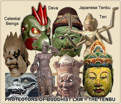 Japanese Tenbu - Deva Protectors of Buddhist Law