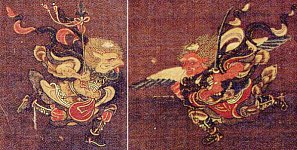 ToTonyugyo Tengu and Suyochiso Tengu in the Dakini Mandala