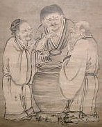 Three Sages Tasting Vinegar