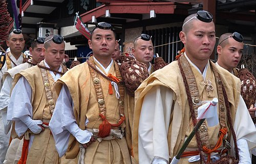 Yamabushi -- Mountain Monks